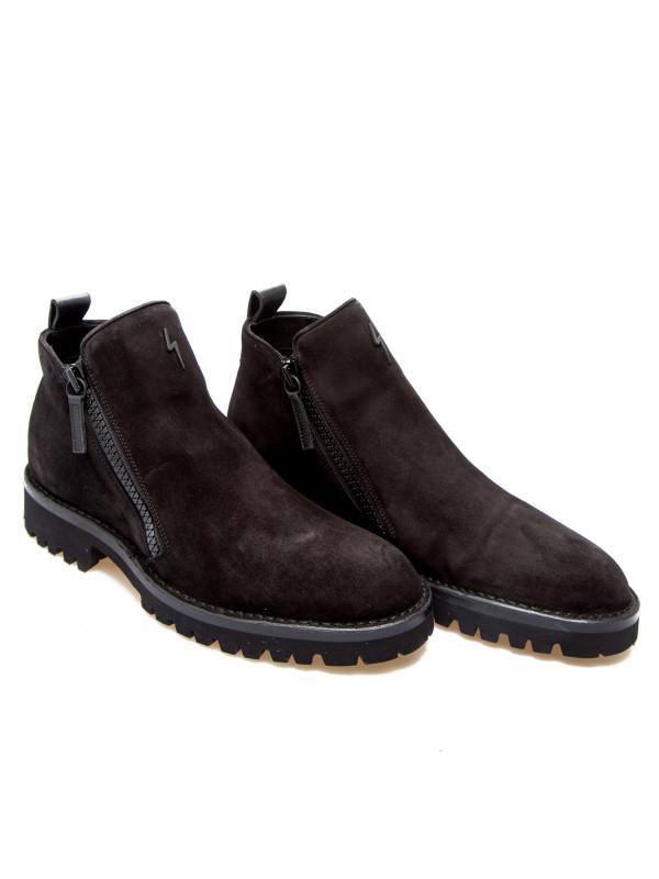 new style 99eda 596fe Giuseppe Zanotti scarpe uomo velour blackiu90041002