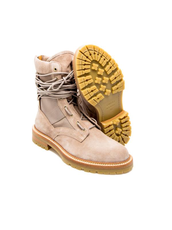 Amiri army combat boot beige