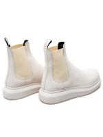 Alexander Mcqueen low boots wit