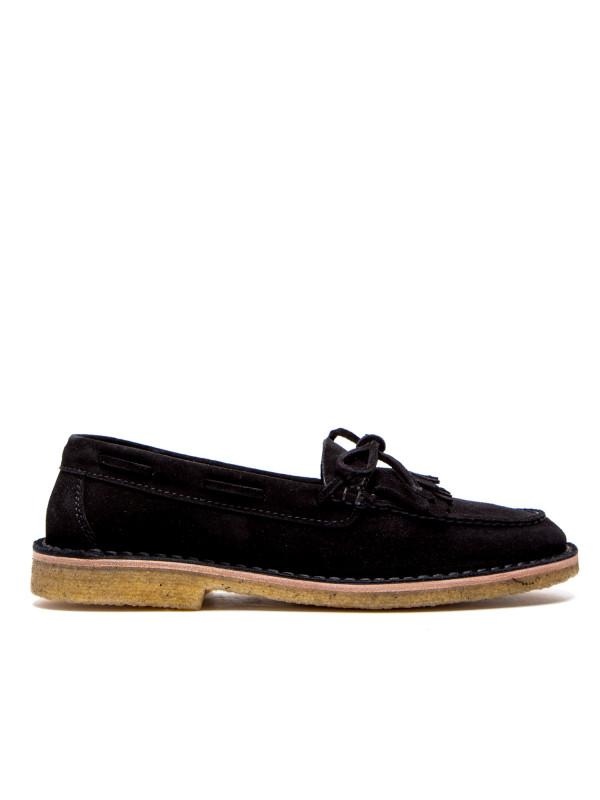 Saint Laurent nino tass sh loafers zwart