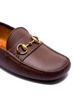 Gucci moccasins bruin