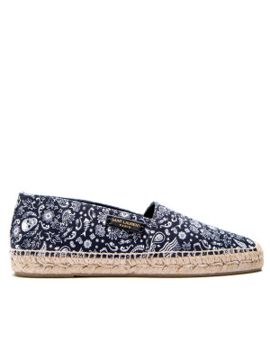 Saint Laurent Saint Laurent espadrille label esp