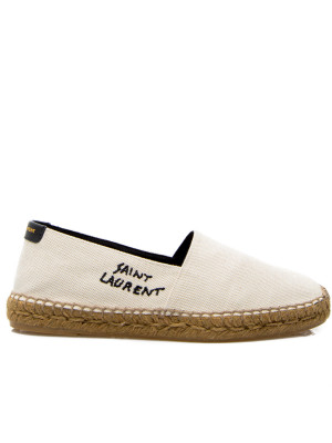 Saint Laurent Saint Laurent espadrille embr esp
