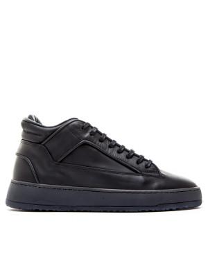 ETQ ETQ Mid 2 Black Waxed zwart Schoenen