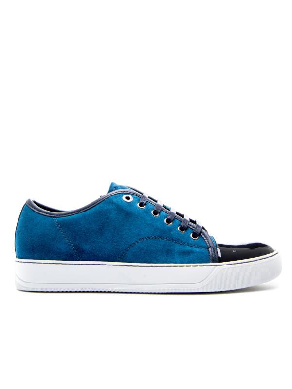 Chaussures Bleu Lanvin Pour Les Hommes DOiUF9pASa