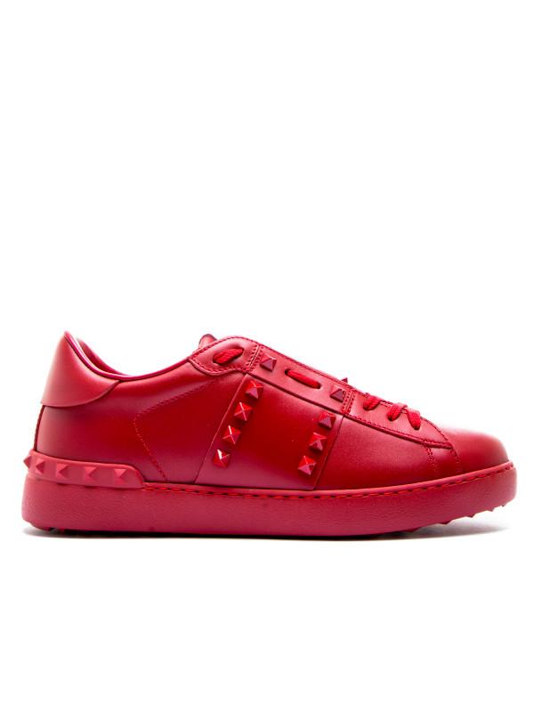 Valentino Chaussures Rouges Pour Les Hommes 4XZjzku