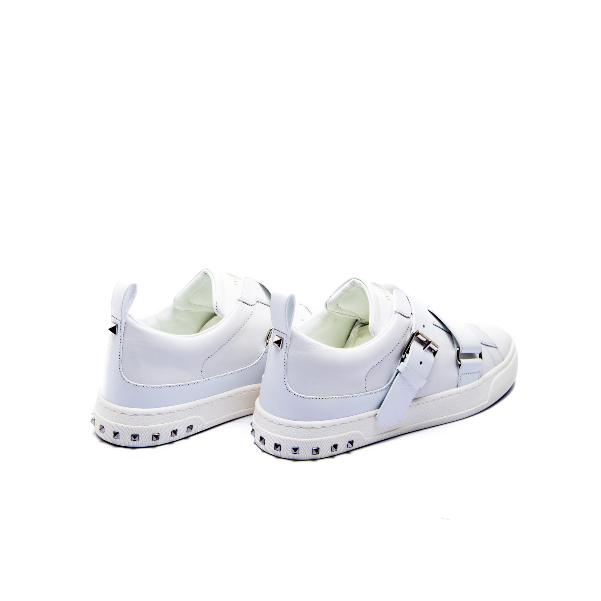 Blanc Giuseppe Zanotti Chaussures Avec Boucle Pour Femmes o7HrHUk