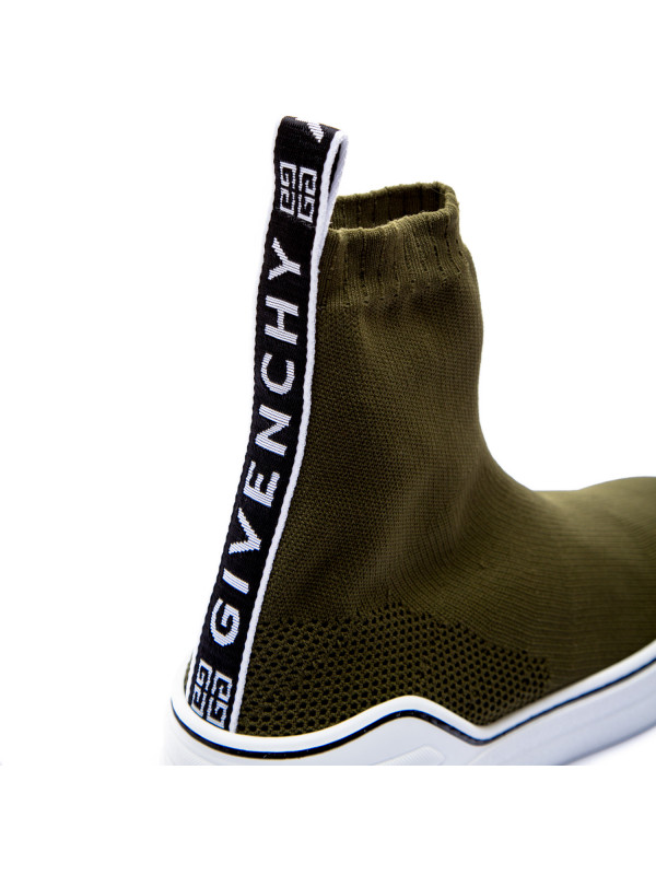 Givenchy george v sock groen