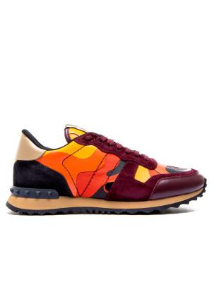 Chaussures Bordeaux-rouge Valentino Pour Les Hommes k2p8H
