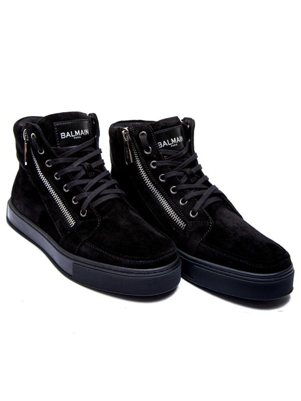 Sneaker Balmain High Jude Zwart Top nxEnqPwgrp