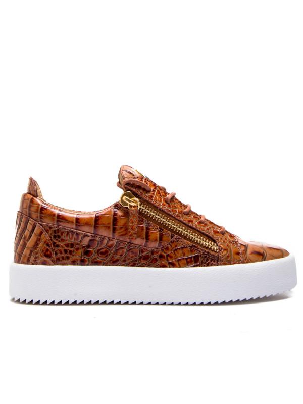 Giuseppe Zanotti sneaker schafla bruin