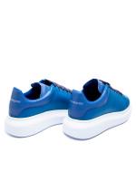 Alexander Mcqueen oversized sneaker blauw