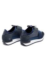 Balenciaga race runner blauw