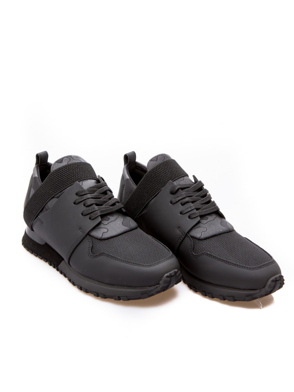 Mallet btlr elast black camo zwart