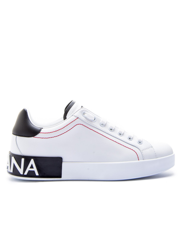salvare 7d529 9aa94 Dolce & Gabbana lowtop sneaker whitecs1587 ah526 89697 fw19