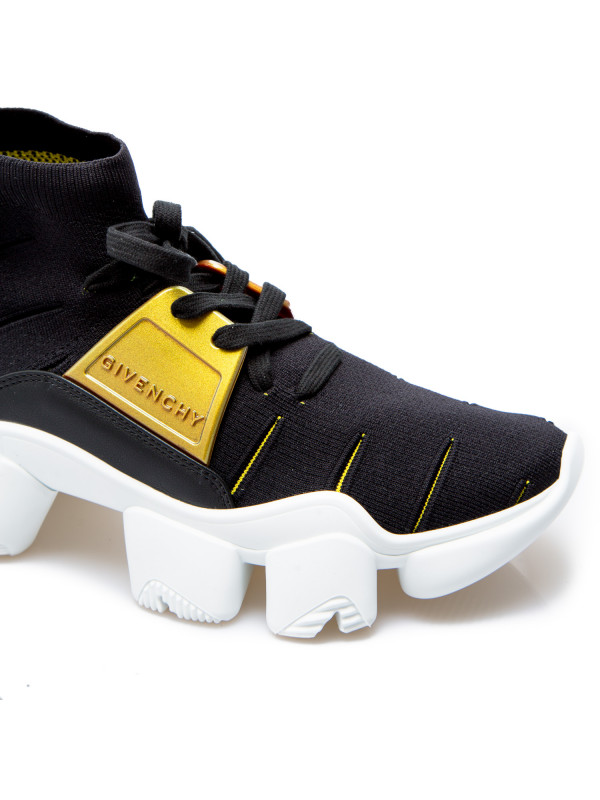 Givenchy jaw sock sneaker mid zwart