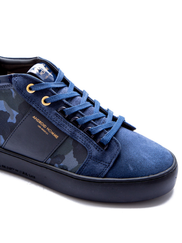 Android Homme propulsion mid blauw