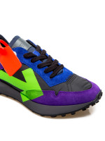 Off White arrow sneakers paars