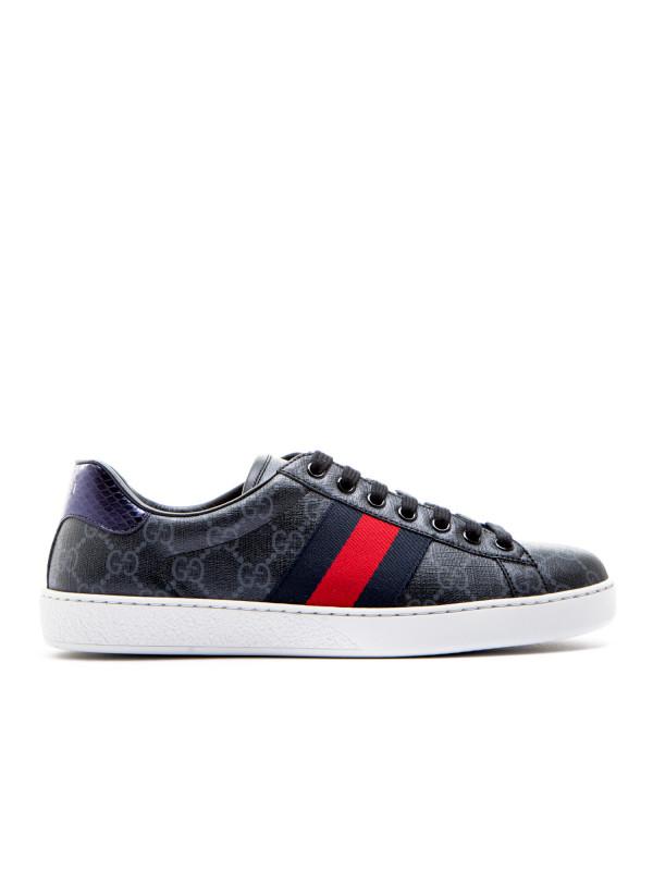 gucci black sport shoes - 52% OFF