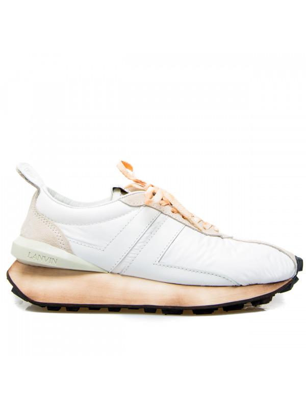 Lanvin running sneaker wit
