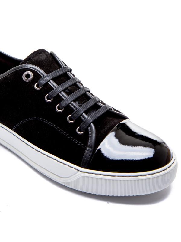 Lanvin captoe low to sneaker zwart
