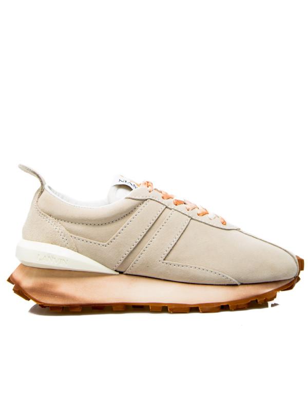 Lanvin bumper sneaker wit