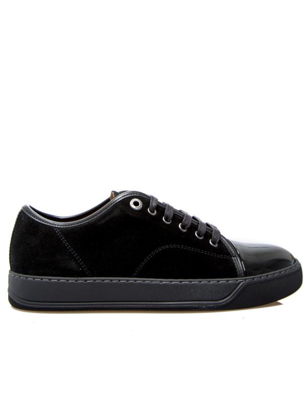 Lanvin captoe low top sneaker zwart