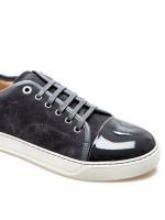 Lanvin captoe low top sneaker grijs