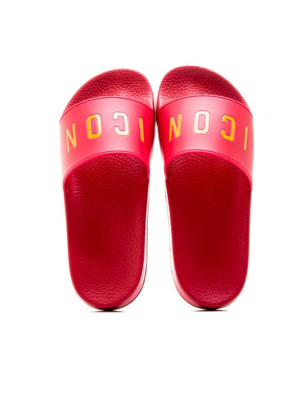 Dsquared2 slide sandal icon Outlet 2018 Unisex Grote Korting Goedkope Prijs Kopen Goedkope Outlet q44DLy