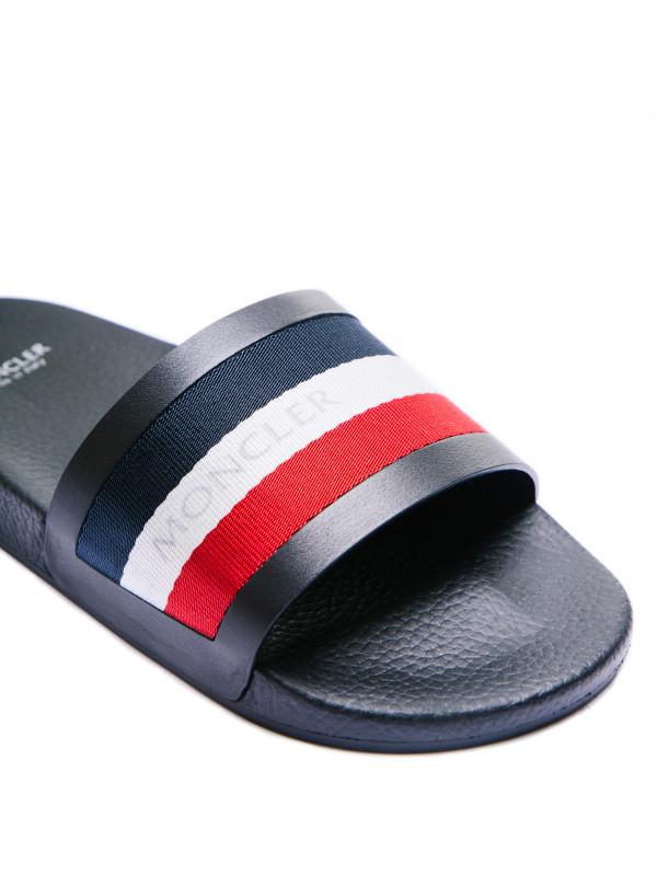 Moncler basile sandalo zwart
