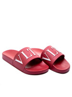 Valentino Garavani pvc sandal rood