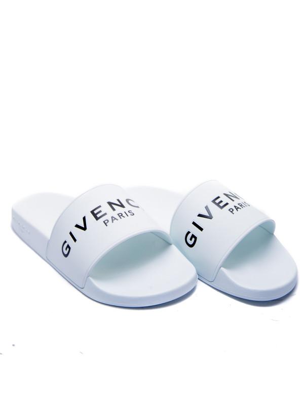 Givenchy slide flat sandals wit
