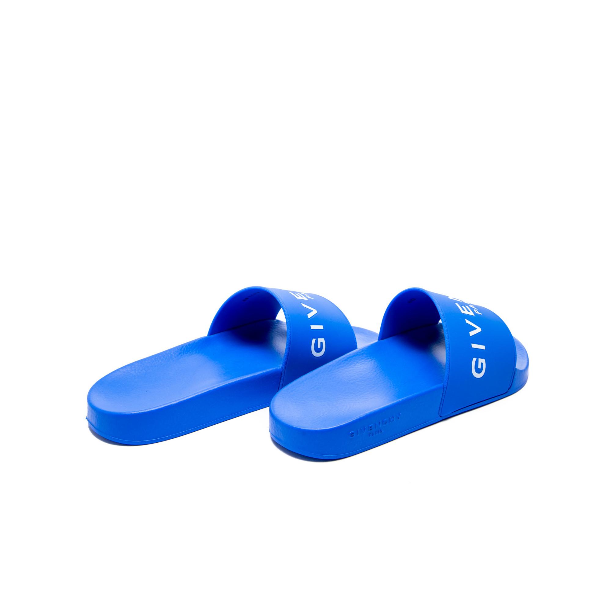 54cbf1e3df75 ... Givenchy slide flat sandals multi ...