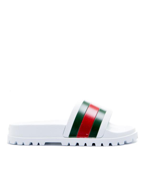 Gucci sandals wit