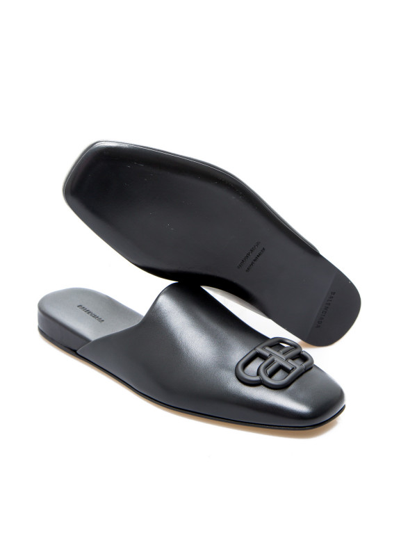 Balenciaga cosy bb mule f005 zwart