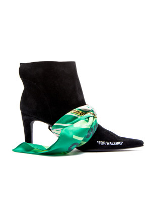 Off White Off White scarf bootie