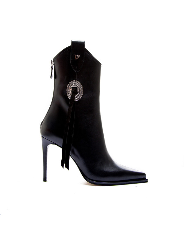 273158ddd9350e Dsquared2 ankle boot blackabw0044 12900001 2124