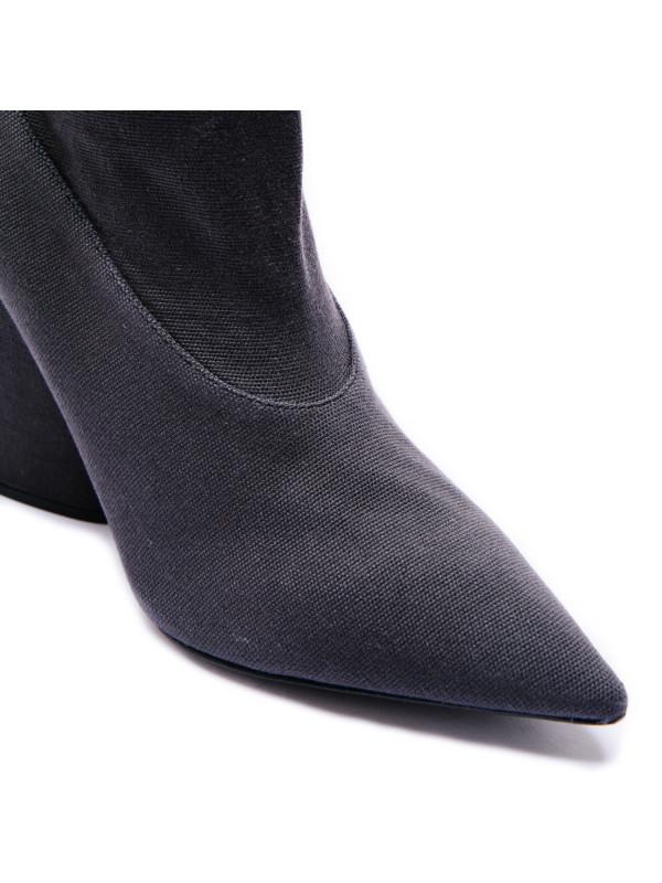 Yeezy stetch ankle boot 100mm grijs