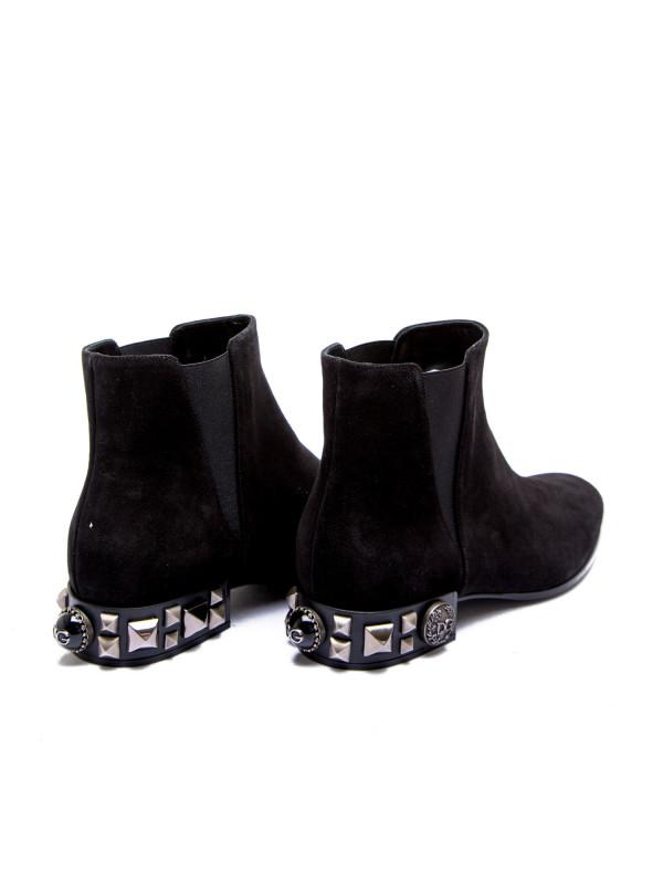Dolce & Gabbana short boots zwart