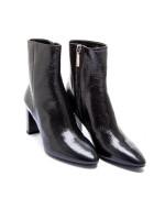 Saint Laurent  lou 70 zip bootie zwart