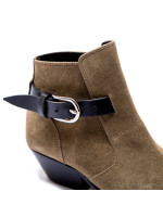 Isabel Marant ducklee boots taupe