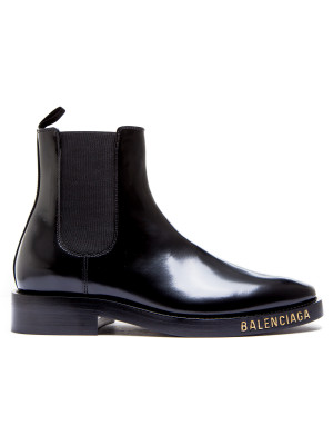 Balenciaga Balenciaga leather halfboot