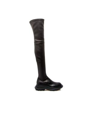 Alexander Mcqueen Alexander Mcqueen thigh-high tread boot