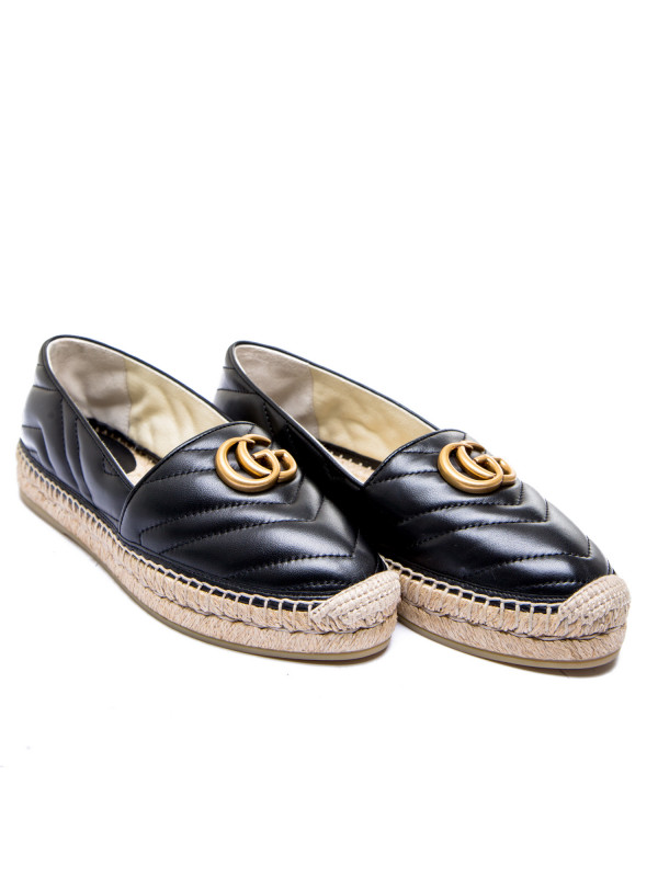 Gucci espadrilles charlotte zwart