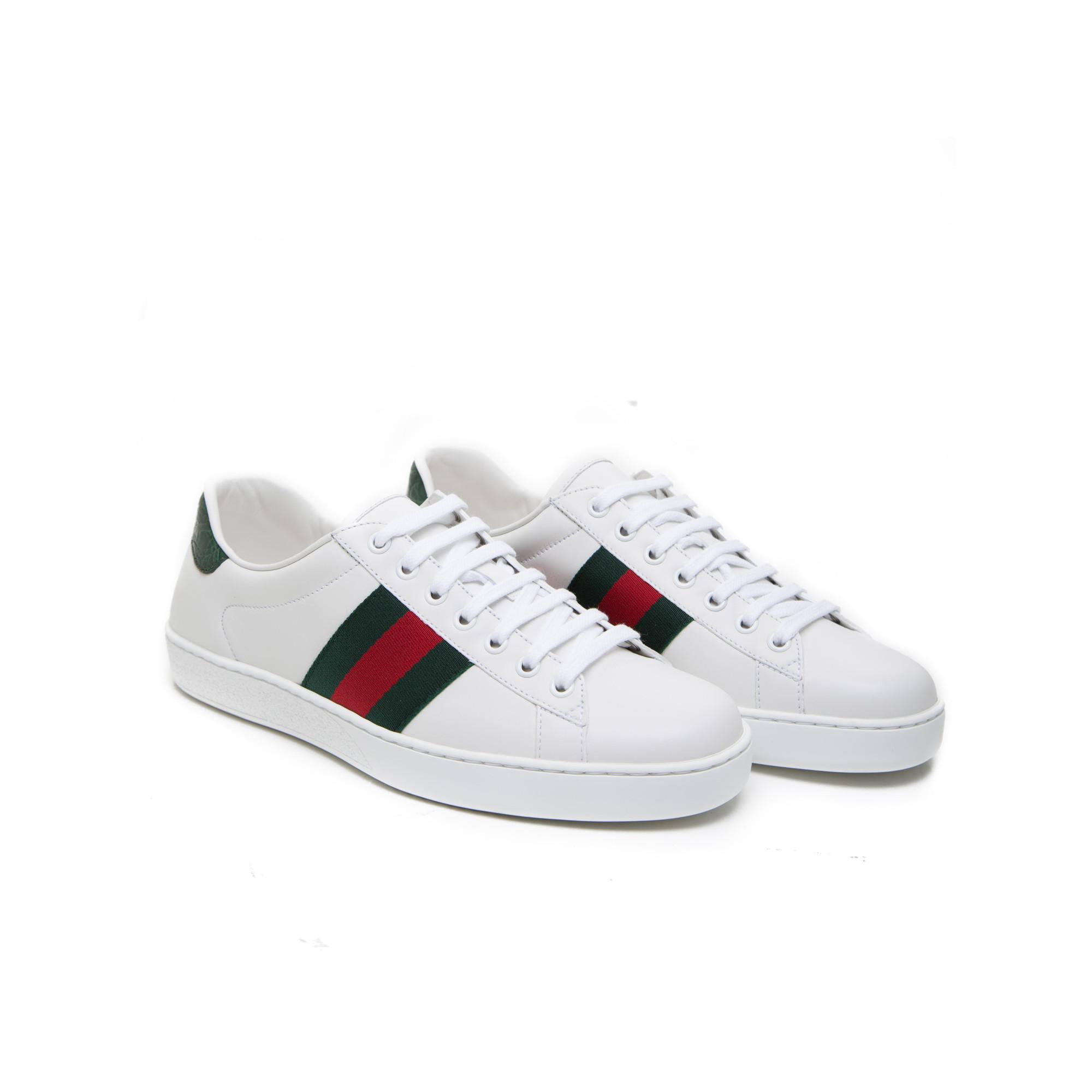 Chaussures Gucci Blanc Pour Femmes fBImv