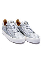 Giuseppe Zanotti sneaker tabata zilver