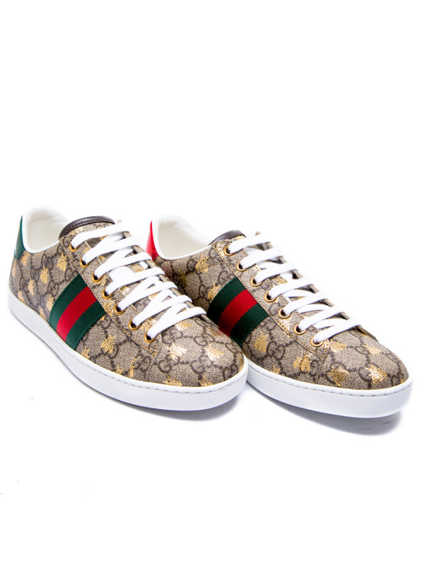 Gucci sportshoes supreme beige
