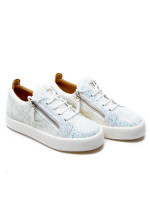 Giuseppe Zanotti sneakers mattglitt wit