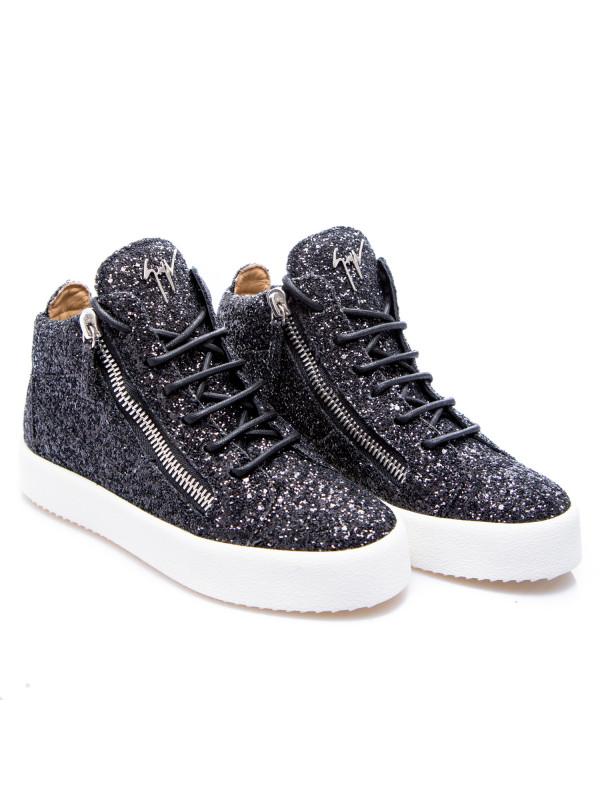 Giuseppe Zanotti sneakers glitter zwart