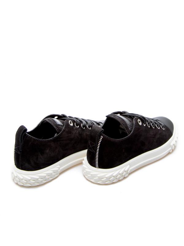 Giuseppe Zanotti sneakers velour zwart